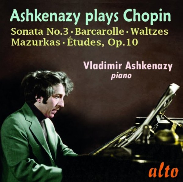 Ashkenazy plays Chopin | Alto ALC1281
