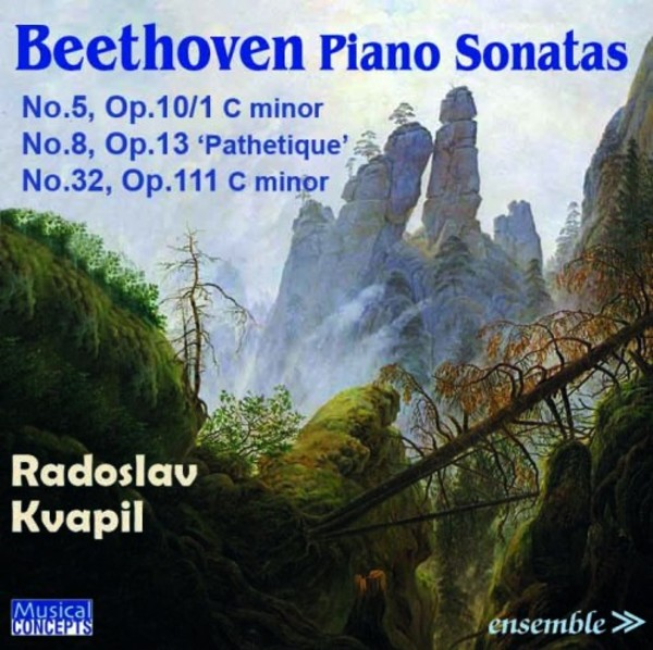Beethoven - Piano Sonatas  | Musical Concepts MC154