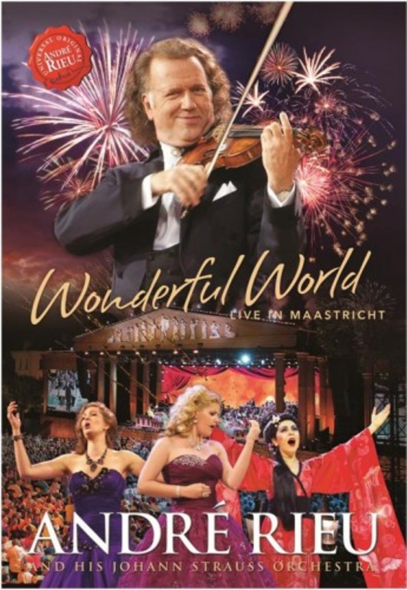 Andre Rieu: Wonderful World (Live in Maastricht) (Blu-ray) | Decca 4747226