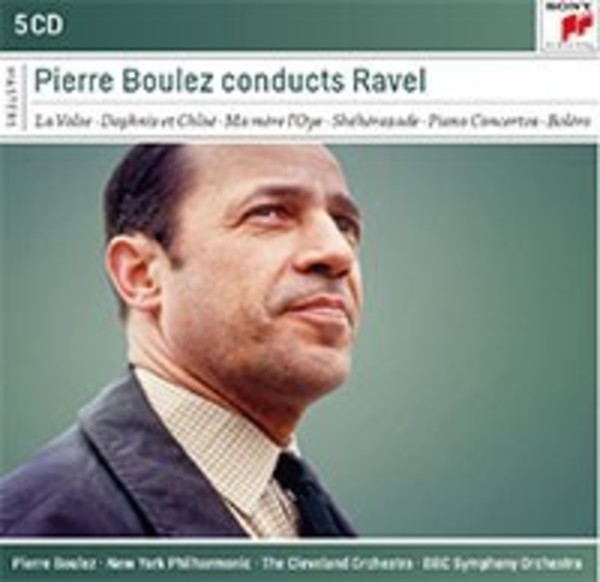 Pierre Boulez conducts Ravel | Sony - Classical Masters 88875108732