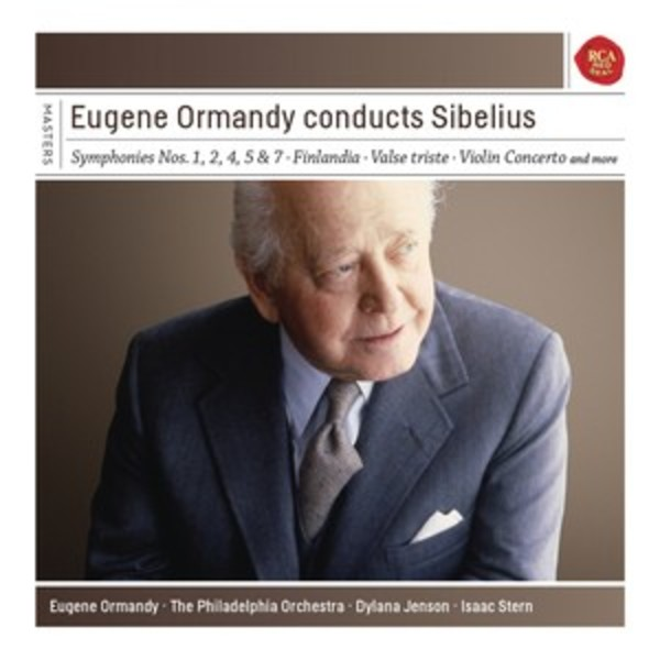 Eugene Ormandy conducts Sibelius | Sony - Classical Masters 88875108582