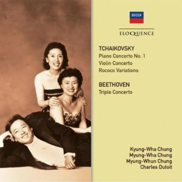 Chung Trio play Tchaikovsky and Beethoven | Australian Eloquence ELQ4822085
