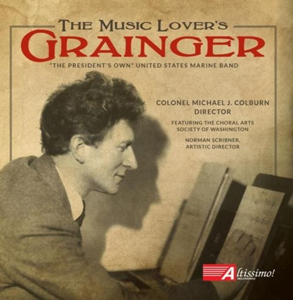 The Music Lover's Grainger | Altissimo ALT04042