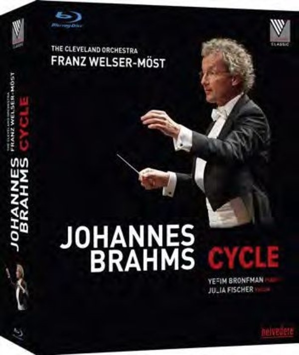 Johannes Brahms Cycle (Blu-ray) | Belvedere BVD08009
