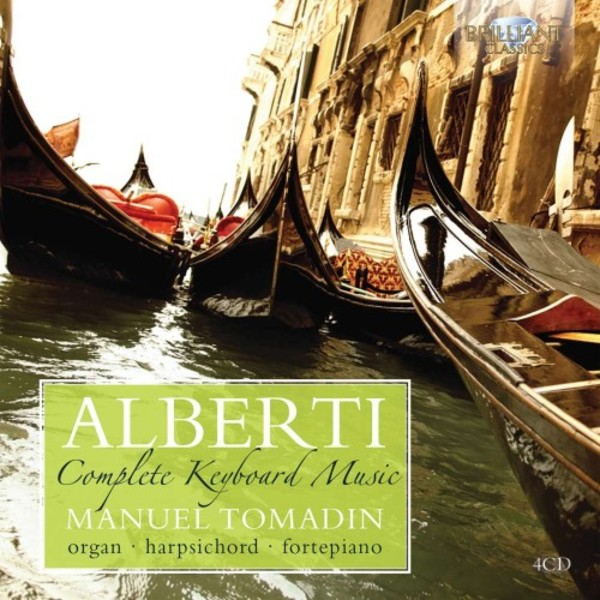 Domenico Alberti - Complete Keyboard Music | Brilliant Classics 95161