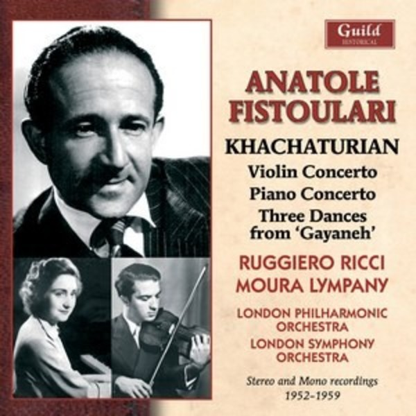 Anatole Fistoulari conducts Khachaturian | Guild - Historical GHCD2427