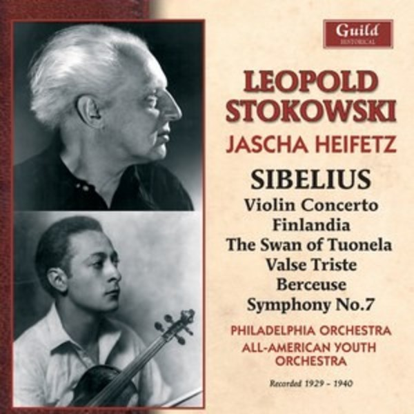 Leopold Stokowski conducts Sibelius | Guild - Historical GHCD2428
