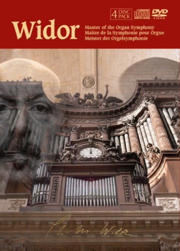 Widor - Master of the Organ Symphony | Fugue State Films FSFDVD010