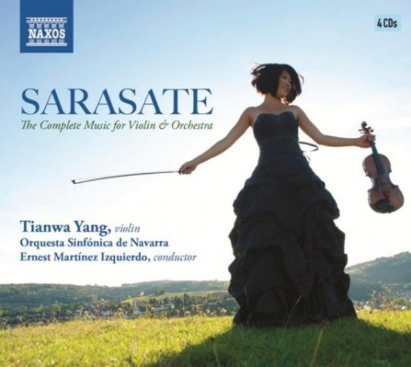 Sarasate - The Complete Music for Violin and Orchestra | Naxos 8504046