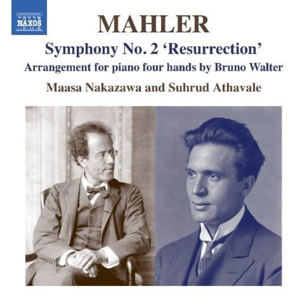 Mahler - Symphony No.2 'Resurrection' (piano 4 hands) | Naxos 8573350