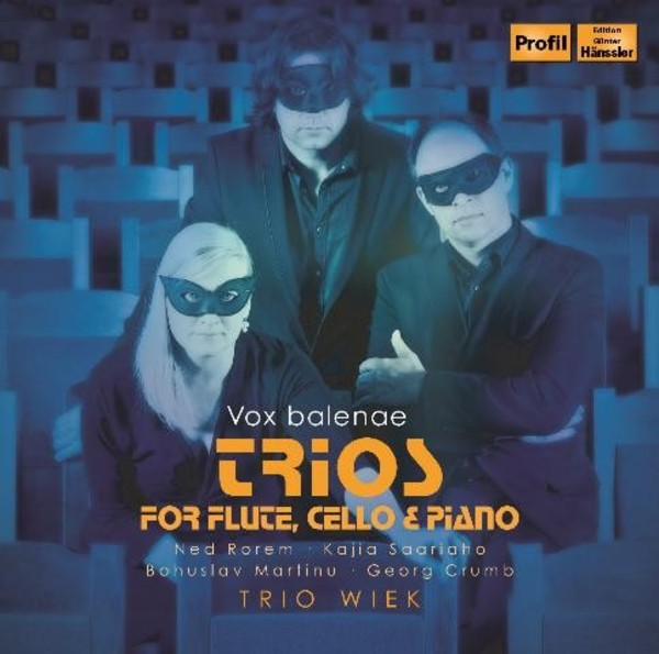 Vox Balaenae: Trios for Flute, Cello & Piano | Profil PH12013