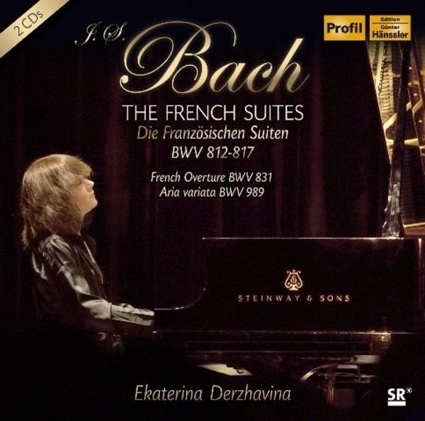J S Bach - The French Suites | Profil PH14043