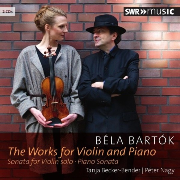 Bartok - Complete Works for Violin and Piano | SWR Music SWR19003CD