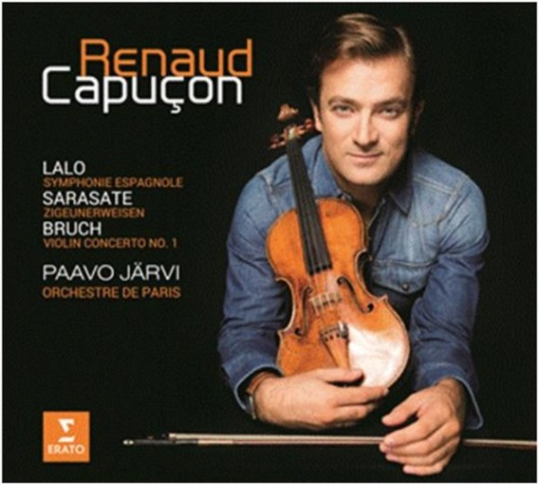Renaud Capucon plays Lalo, Bruch and Sarasate | Erato 2564698276