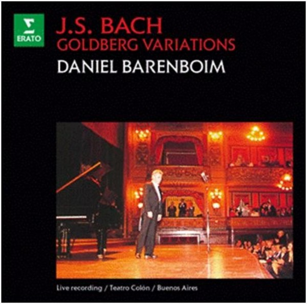J S Bach - Goldberg Variations