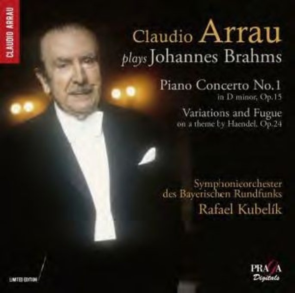 Claudio Arrau plays Brahms | Praga Digitals DSD350068