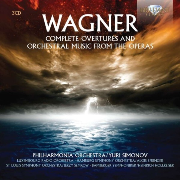 Wagner - Complete Overtures and Orchestral Music from the Operas | Brilliant Classics 94937BR