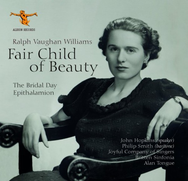 Vaughan Williams - Fair Child of Beauty | Albion Records ALBCD025026