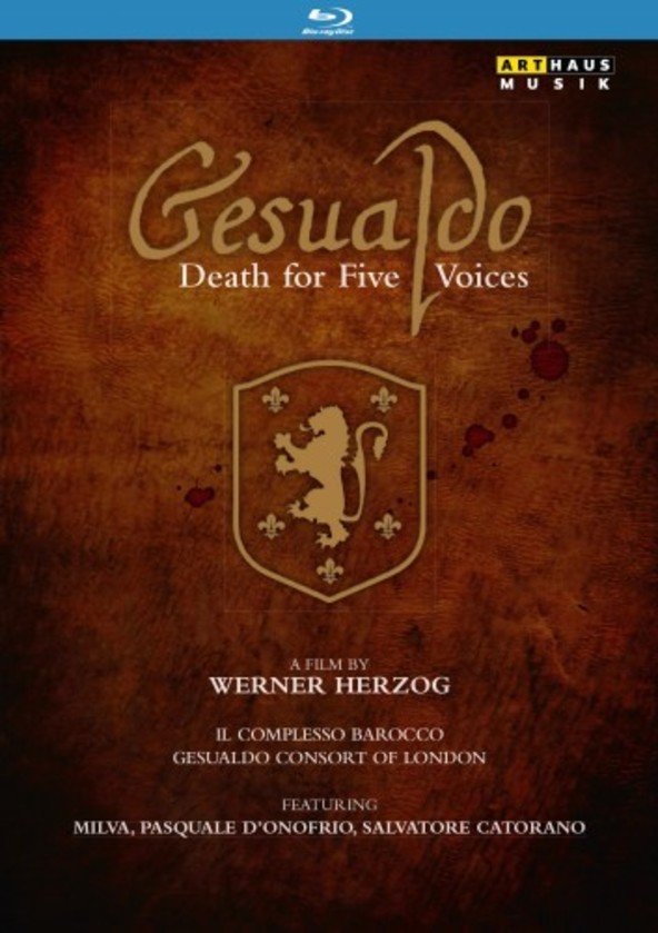 Gesualdo: Death for Five Voices (Blu-ray) | Arthaus 109209