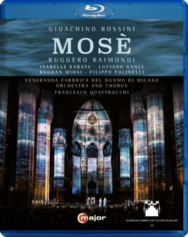 Rossini - Mose (Blu-ray) | C Major Entertainment 735404