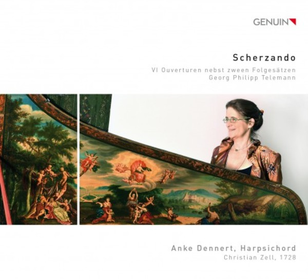 Scherzando: 6 Overtures for keyboard by Telemann | Genuin GEN16411