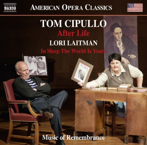 Cipullo - After Life; Laitman - In Sleep the World Is Yours | Naxos - Opera 8669036