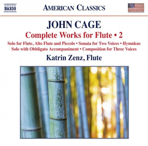 Cage - Complete Works for Flute Vol.2