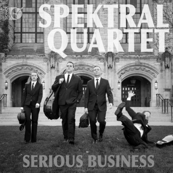 Spektral Quartet: Serious Business (Blu-ray Audio + CD) | Sono Luminus DSL92198