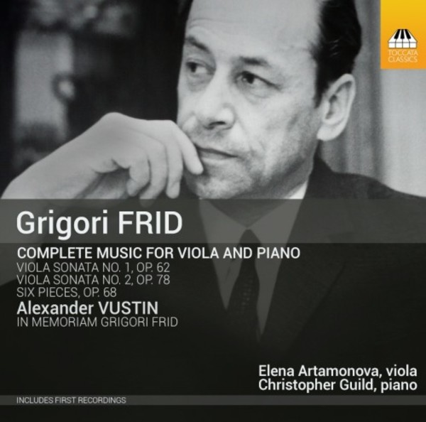 Grigory Frid - Complete Music for Viola and Piano | Toccata Classics TOCC0330