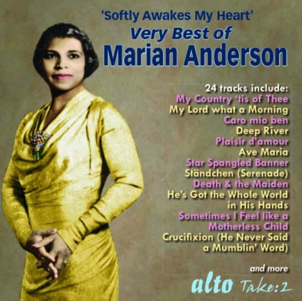 Softly Awakes My Heart: Very Best of Marian Anderson | Alto ALN1955