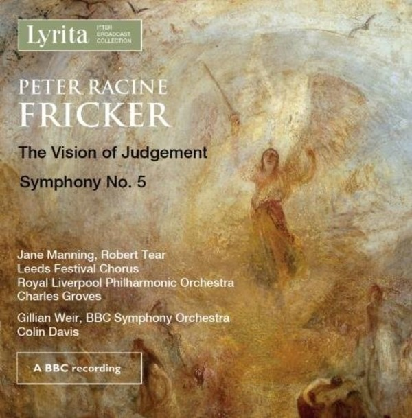Fricker - The Vision of Judgement, Symphony no.5 | Lyrita REAM1124