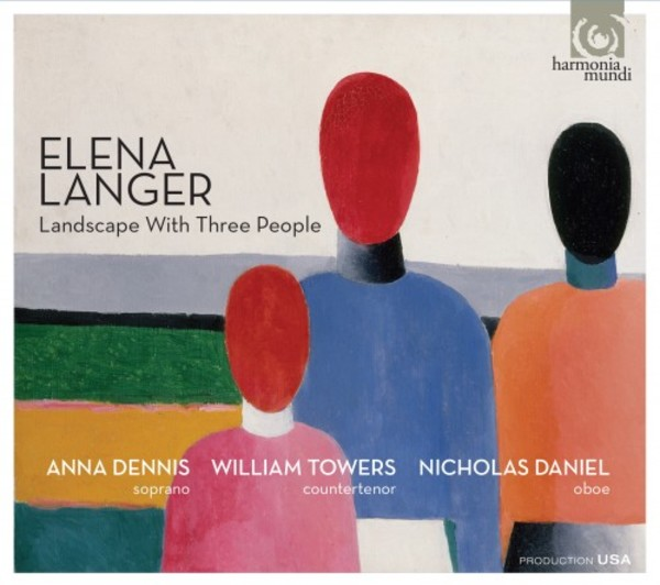 Elena Langer - Landscape With Three People | Harmonia Mundi HMU907669