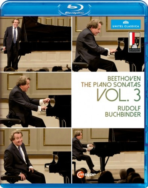 Beethoven - Piano Sonatas Vol.3 (Blu-ray) | C Major Entertainment 734604