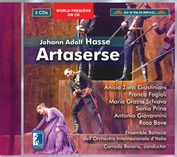 Hasse - Artaserse | Dynamic CDS7715