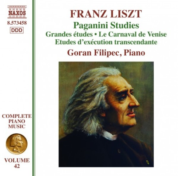 Liszt - Complete Piano Music Vol.42: Paganini Studies