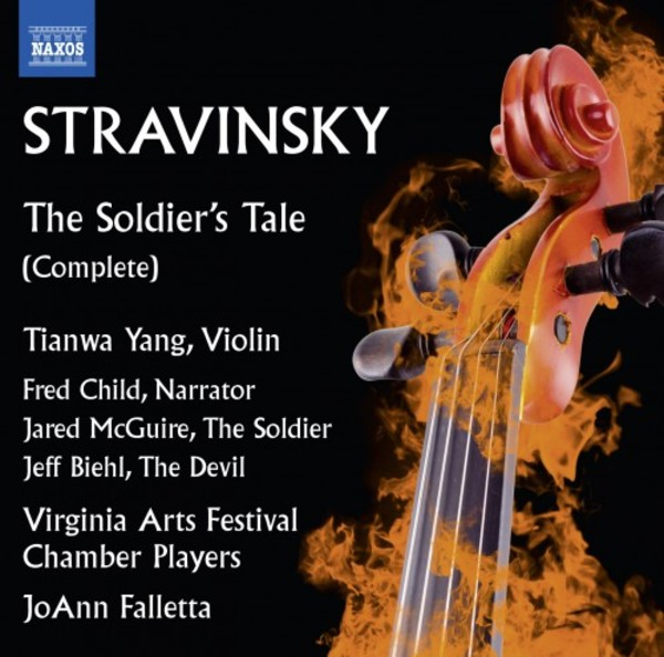 Stravinsky - The Soldier's Tale | Naxos 8573537