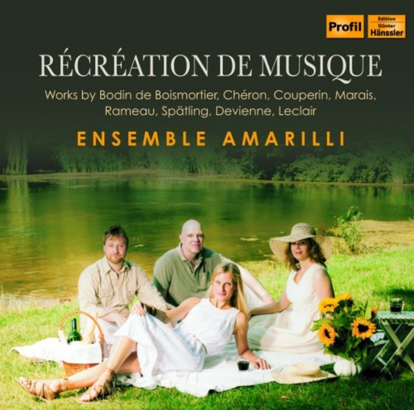 Recreation de musique - Works by Boismortier, Cheron, Couperin, Marais, Rameau, Spatling, Devienne & Leclair | Profil PH15033