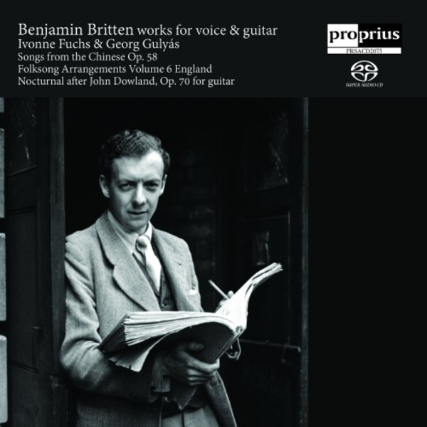 Britten: Works for Voice & Guitar | Proprius PRSACD2075