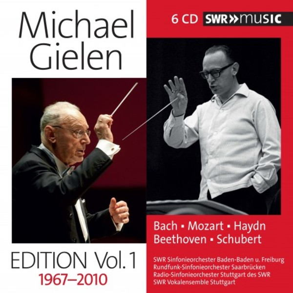 Michael Gielen Edition Vol.1: Recordings 1967-2010 | SWR Music SWR19007CD