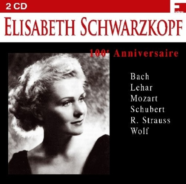 Elisabeth Schwarzkopf: 100th Anniversary | Forlane FOR17019