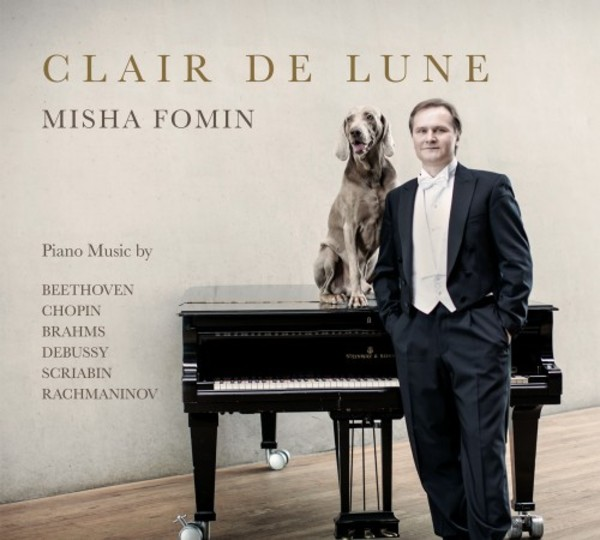 Clair de Lune: Piano Music by Beethoven, Chopin, Brahms, Debussy, Scriabin, Rachmaninov | Clam Records CLAM20151