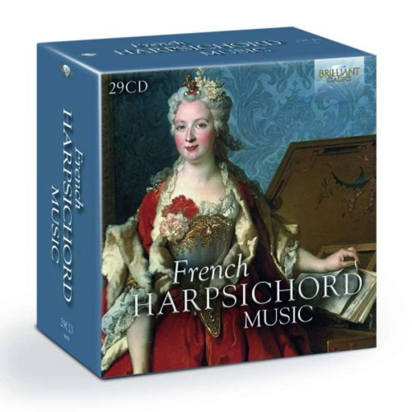 French Harpsichord Music | Brilliant Classics 95250BR