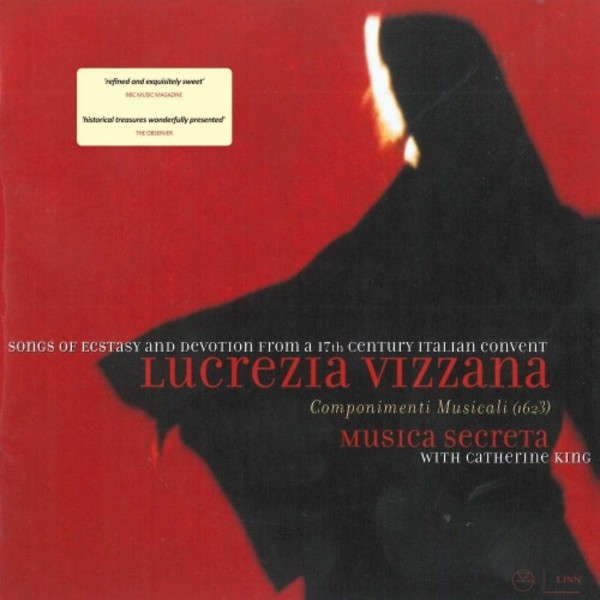 Lucrezia Vizzana - Songs of Ecstasy and Devotion | Linn CKD071