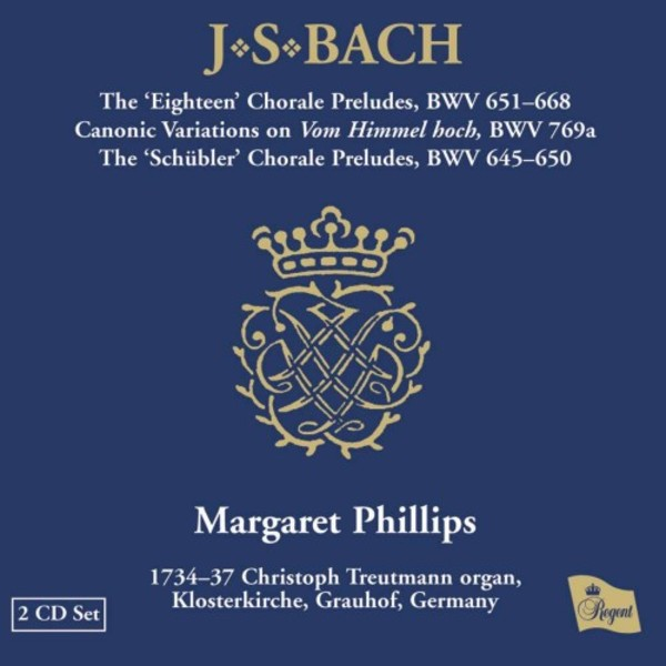 Bach - Chorale Preludes | Regent Records REGCD232