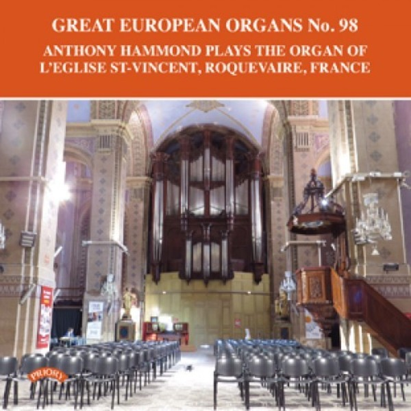 Great European Organs No.98 | Priory PRCD1156