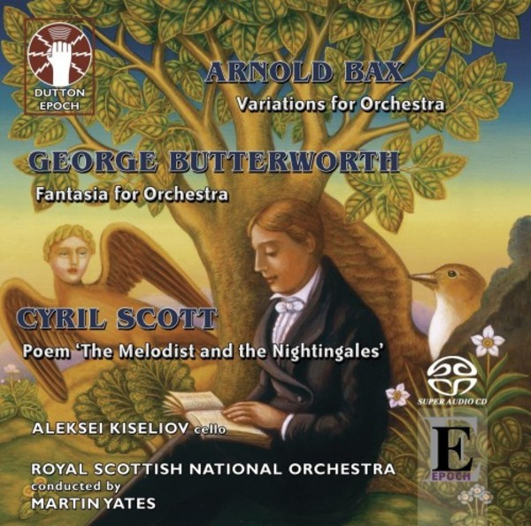 Scott - The Melodist and the Nightingales; Butterworth - Fantasia; Bax - Variations | Dutton - Epoch CDLX7326