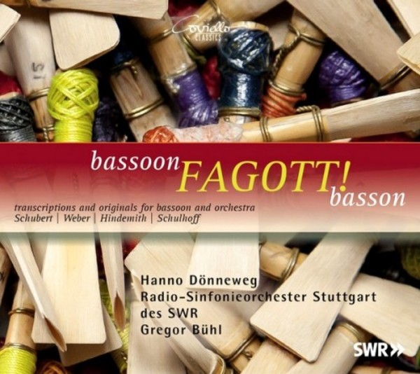 Fagott! Transcriptions & Originals for Bassoon & Orchestra | Coviello Classics COV91517