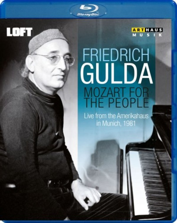 Friedrich Gulda: Mozart for the People (Blu-ray) | Arthaus 109189