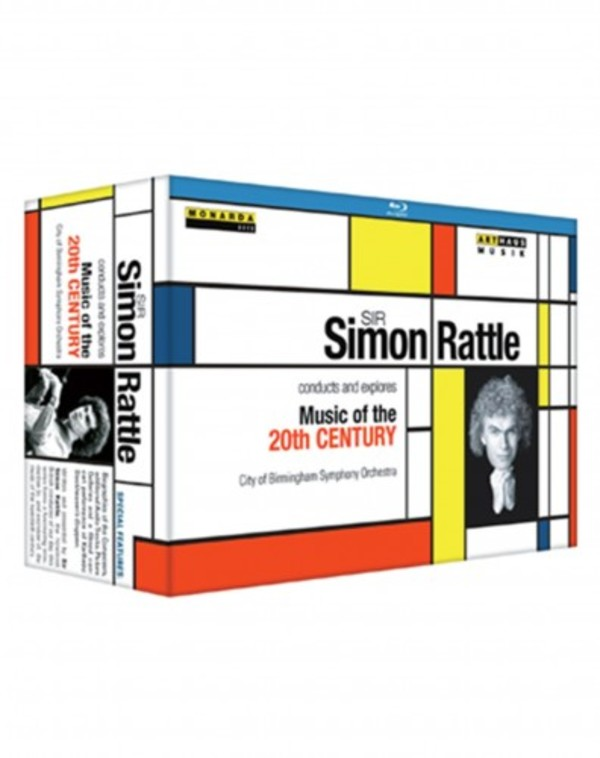 Simon Rattle conducts and explores Music of the 20th Century (Blu-ray) | Arthaus 109222