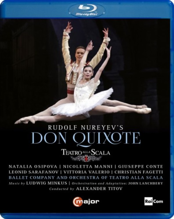 Rudolf Nureyev's Don Quixote (Blu-ray) | C Major Entertainment 735804